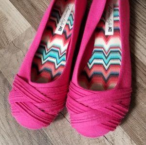 American Eagle Pink Flats